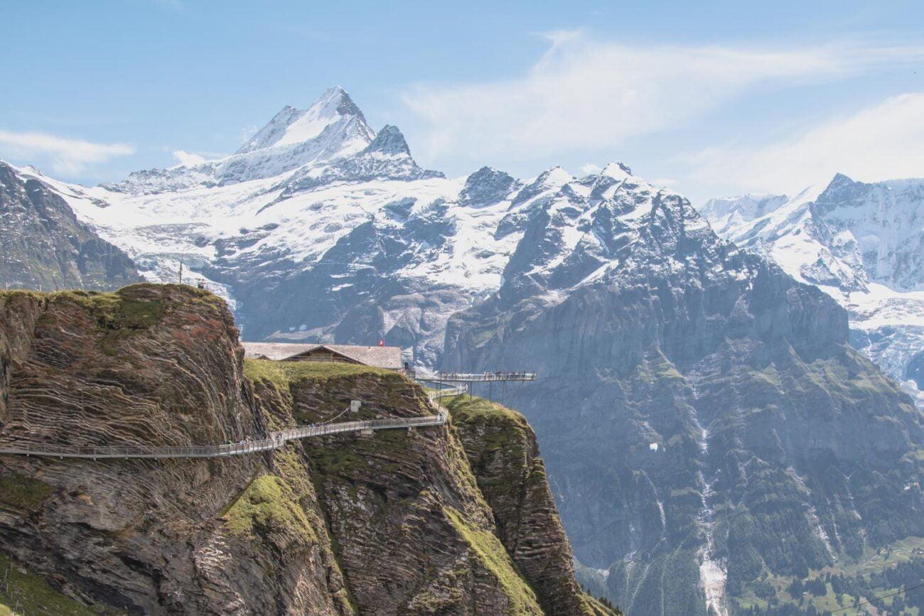 First Cliff Walk em Grindelwald, Suíça