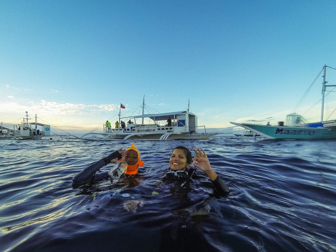 ilha de Malapascua nas Filipinas