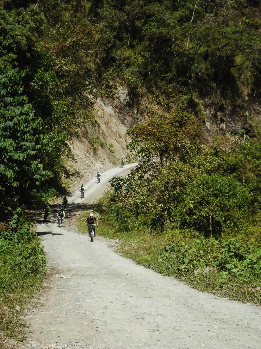 Estrada da Morte na Bolívia