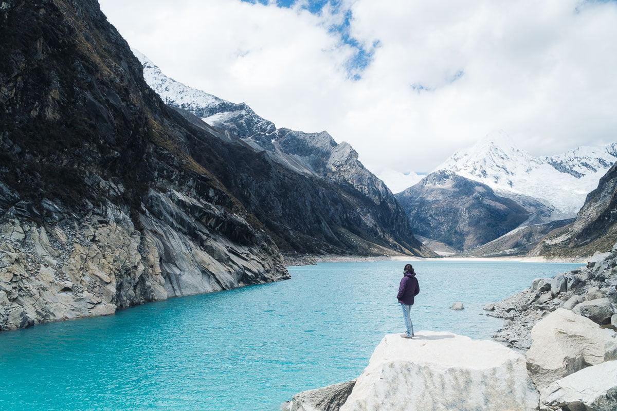 Laguna Parón em Huaraz Peru