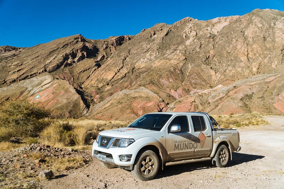 Viagem pela Bolívia de carro - Estrada
