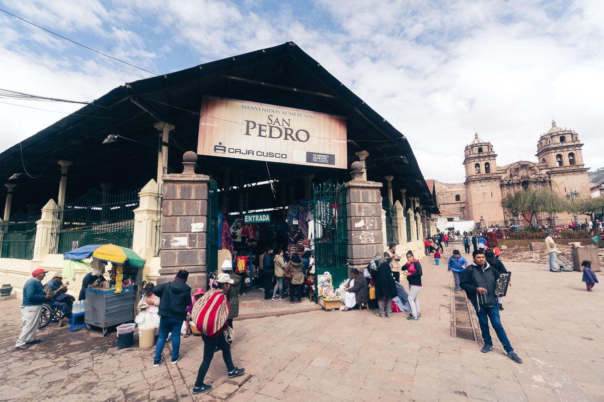 O que fazer em Cusco - Mercado San Pedro