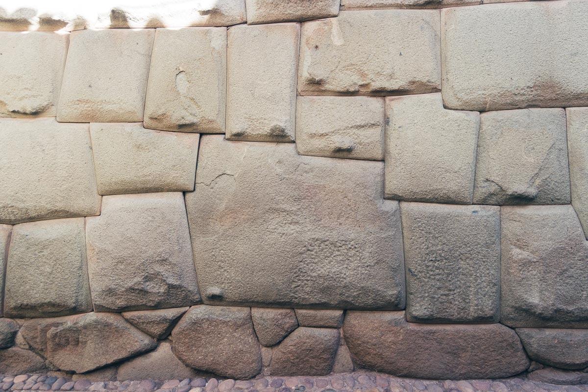 O que fazer em Cusco - Pedra de 12 angulos
