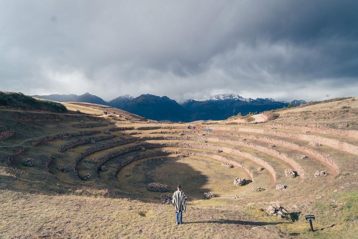 Salineras de Maras e Moray Saindo de Cusco