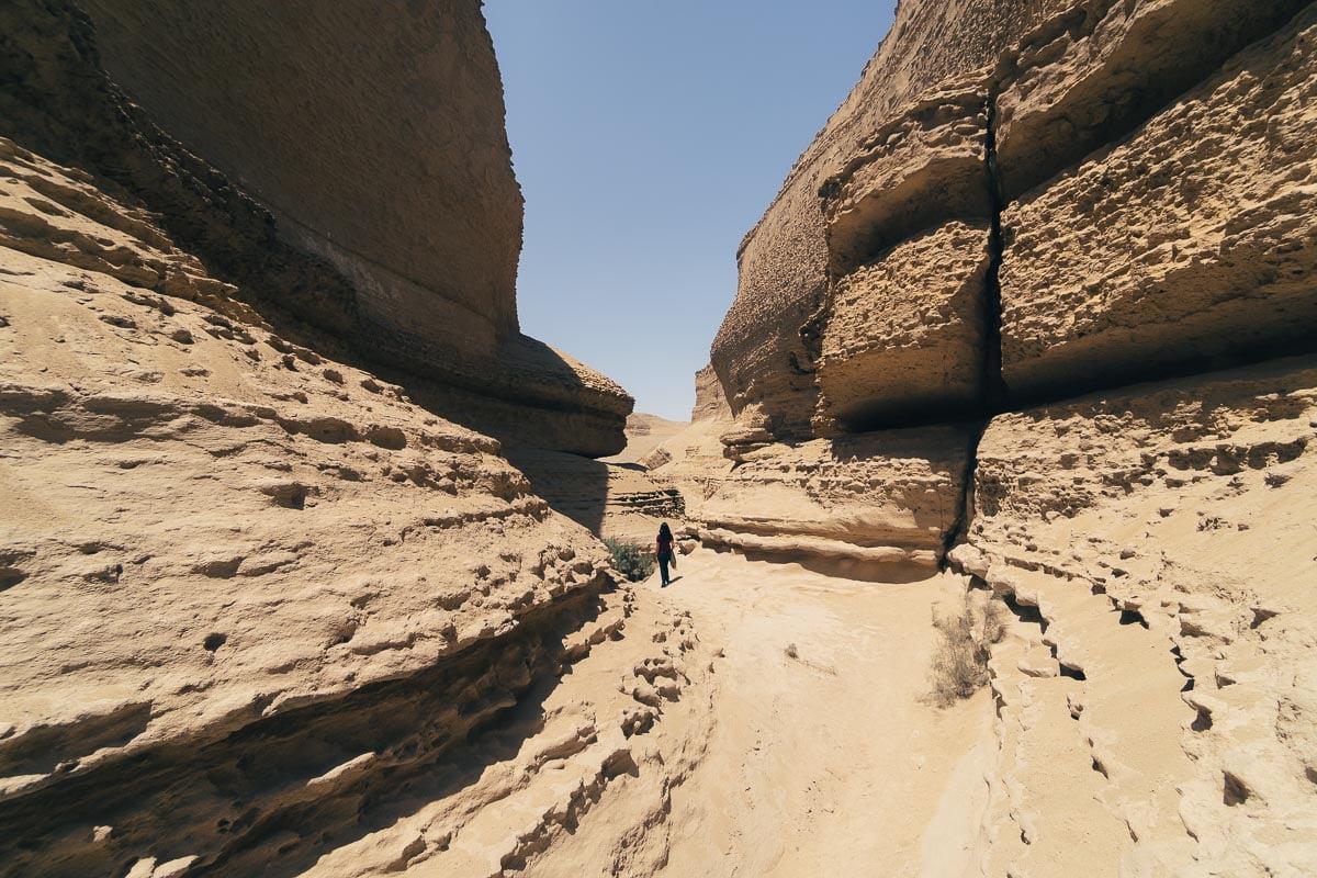O que Fazer em Ica - Fundo do Canyon de Los Perdidos