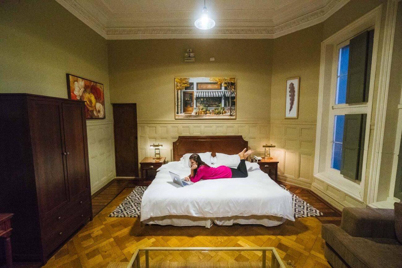Onde ficar em Santiago - Casa Zañartu