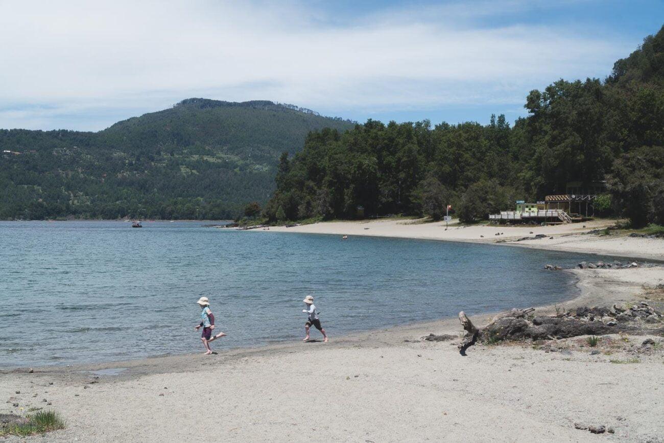 Pucón Chile - Praia Blanca