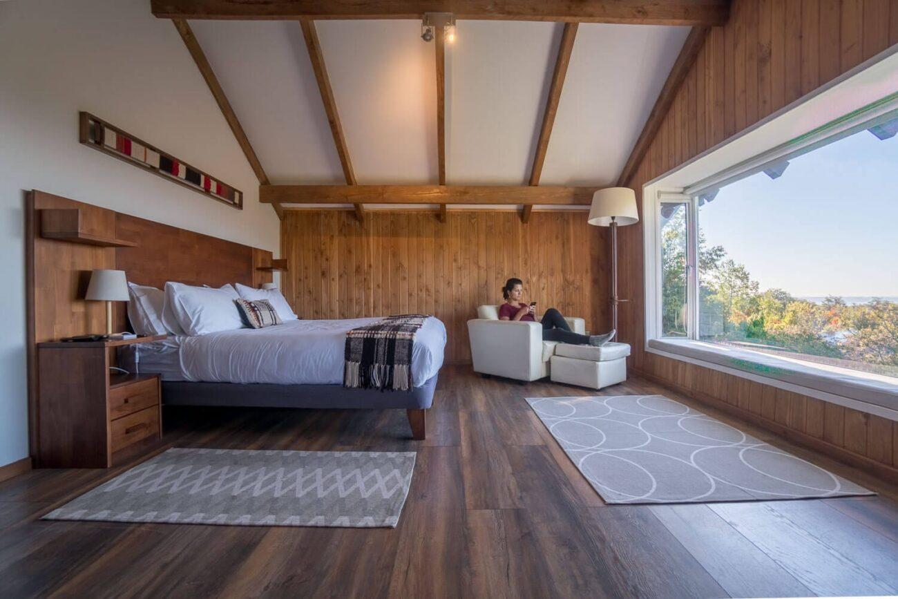 Pucón Chile - Bambu Lodge Quarto