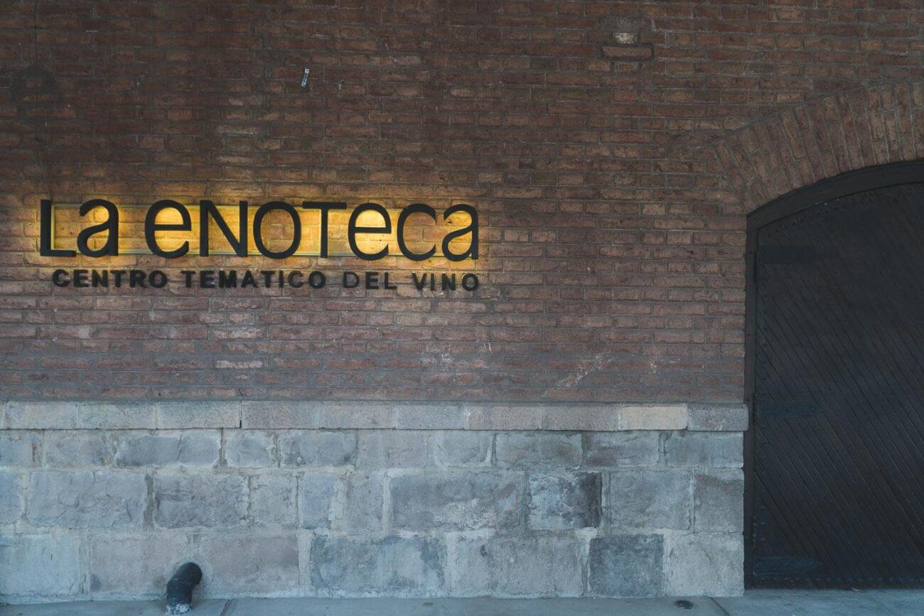 O que fazer em Mendoza Argentina - Enoteca