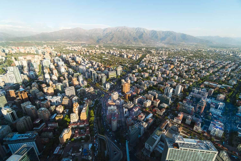 Sky Costanera Santiago Chile  - tarde
