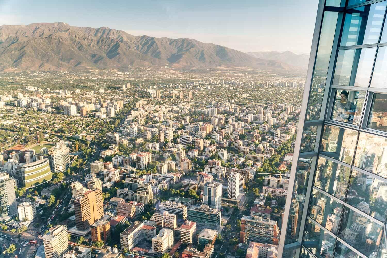 Sky Costanera Santiago Chile - Janela