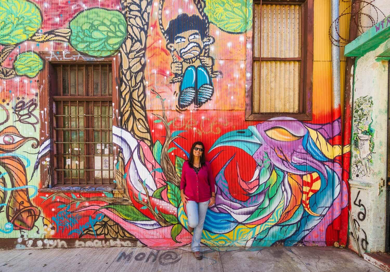 Valparaíso - Grafite Vermelho