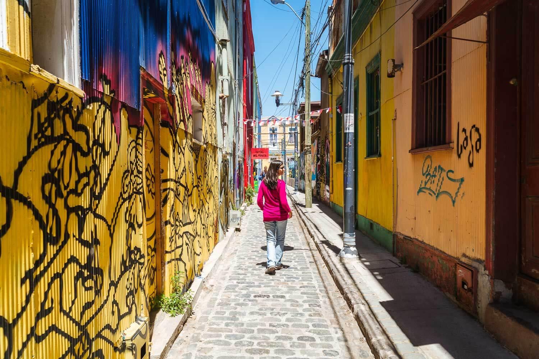 Valparaíso - Caminhando