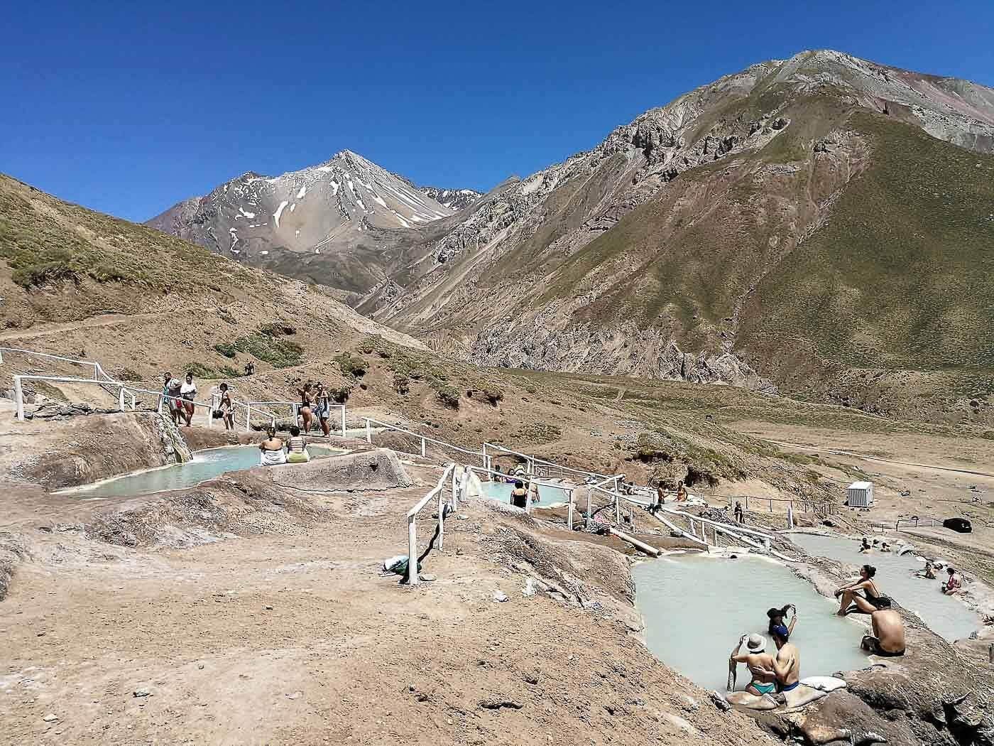 Cajon del Maipo e Embalse El Yeso- Termas