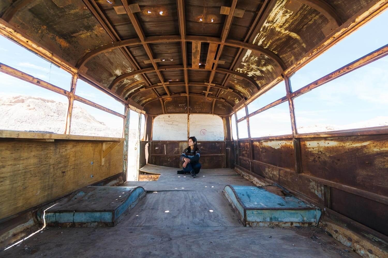 Ônibus Abandonado Atacama - Magic Bus - Interior