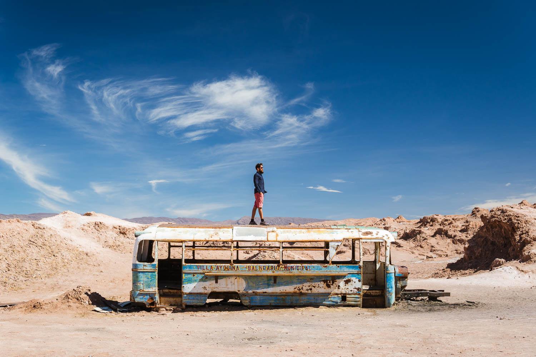 Ônibus Abandonado Atacama - Magic Bus - Caio
