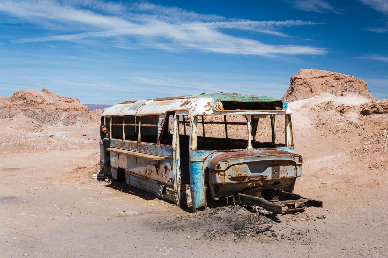 Ônibus Abandonado Atacama - Magic Bus - Onibus