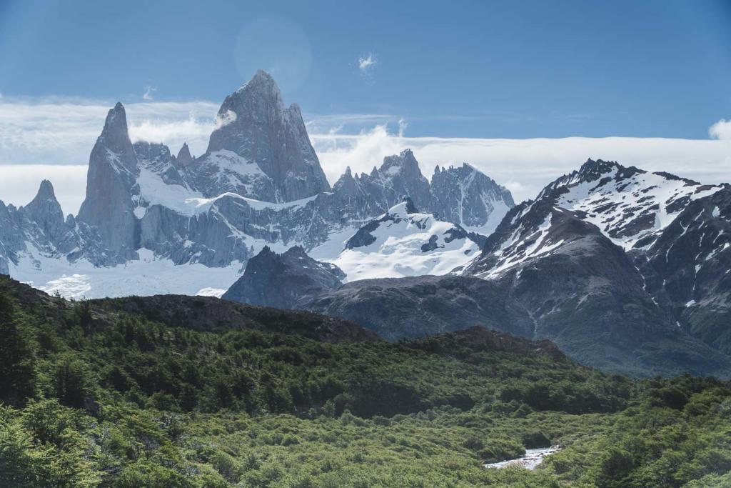 O que Fazer Em El Calafate Perito Moreno Argentina - Foto tirada na trilha para a Laguna de Los Tres, base da montanha Fitz Roy, em El Chalten