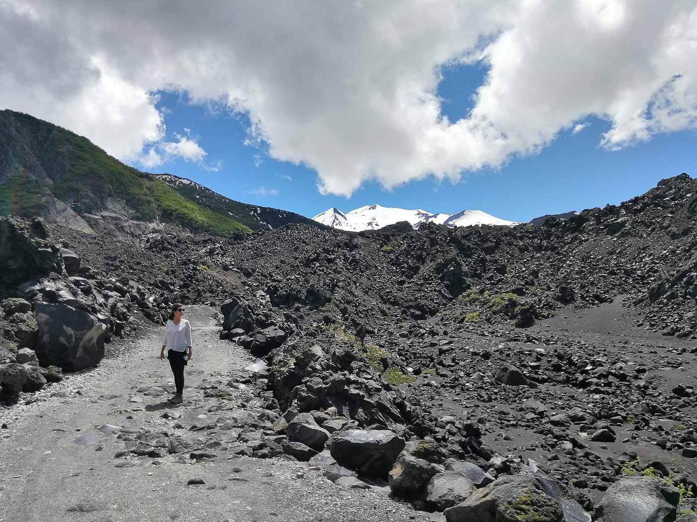 O que fazer em Chillán Neve Termas de Chillán - Trekking 2