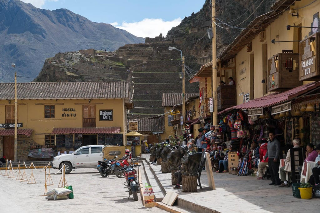 Ollantaytambo Peru - Cidade