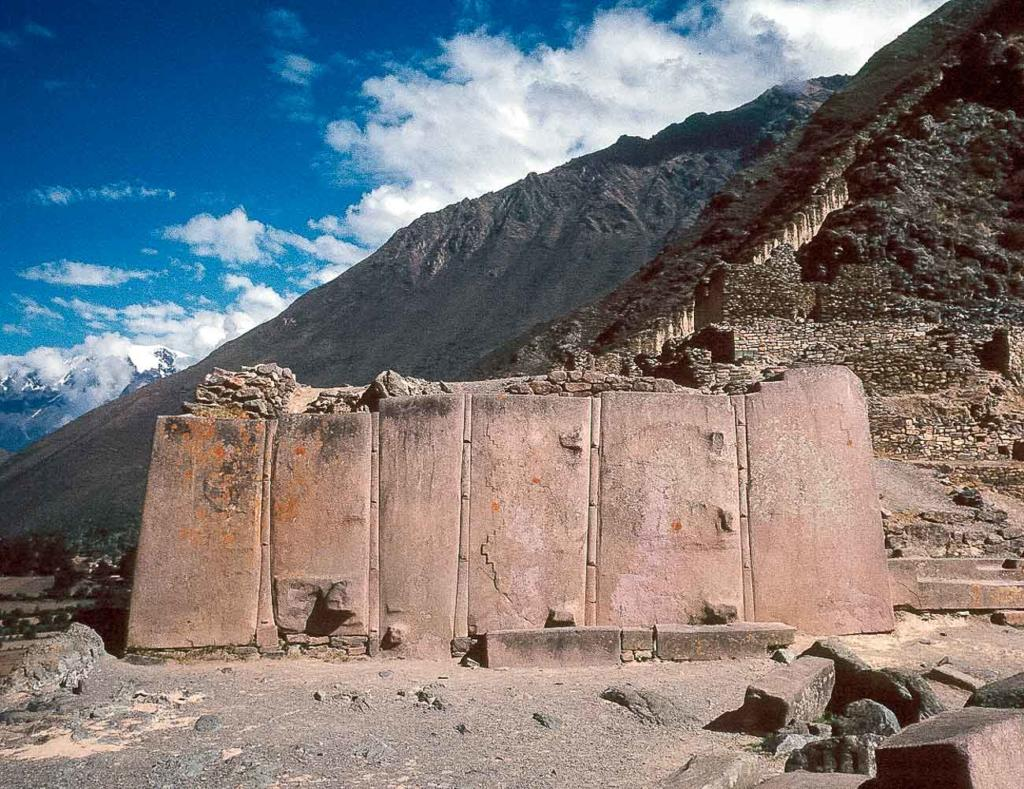 Ollantaytambo Peru - Templo Sol