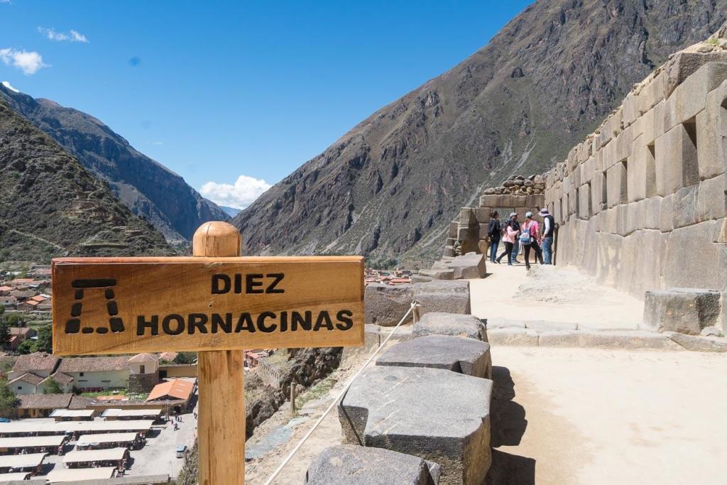 Ollantaytambo Peru - Ruínas