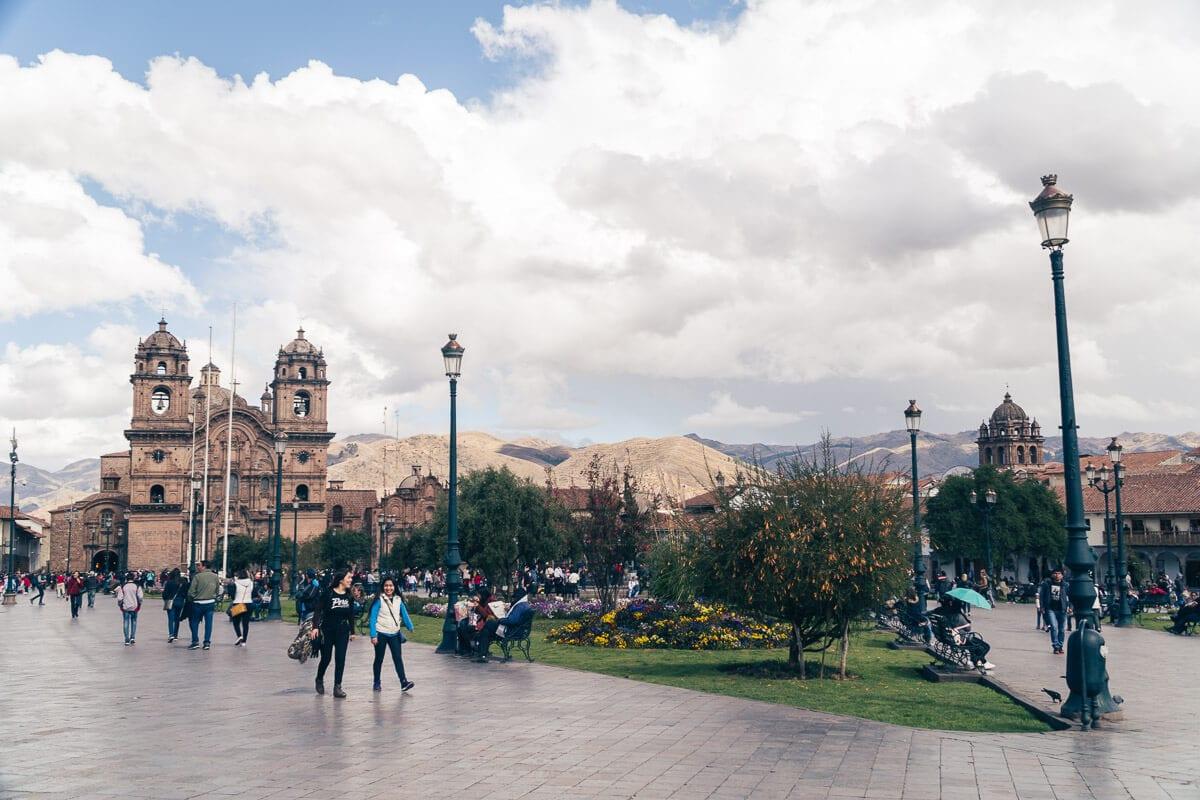 Onde ficar em Cusco - Plaza de Armas 2