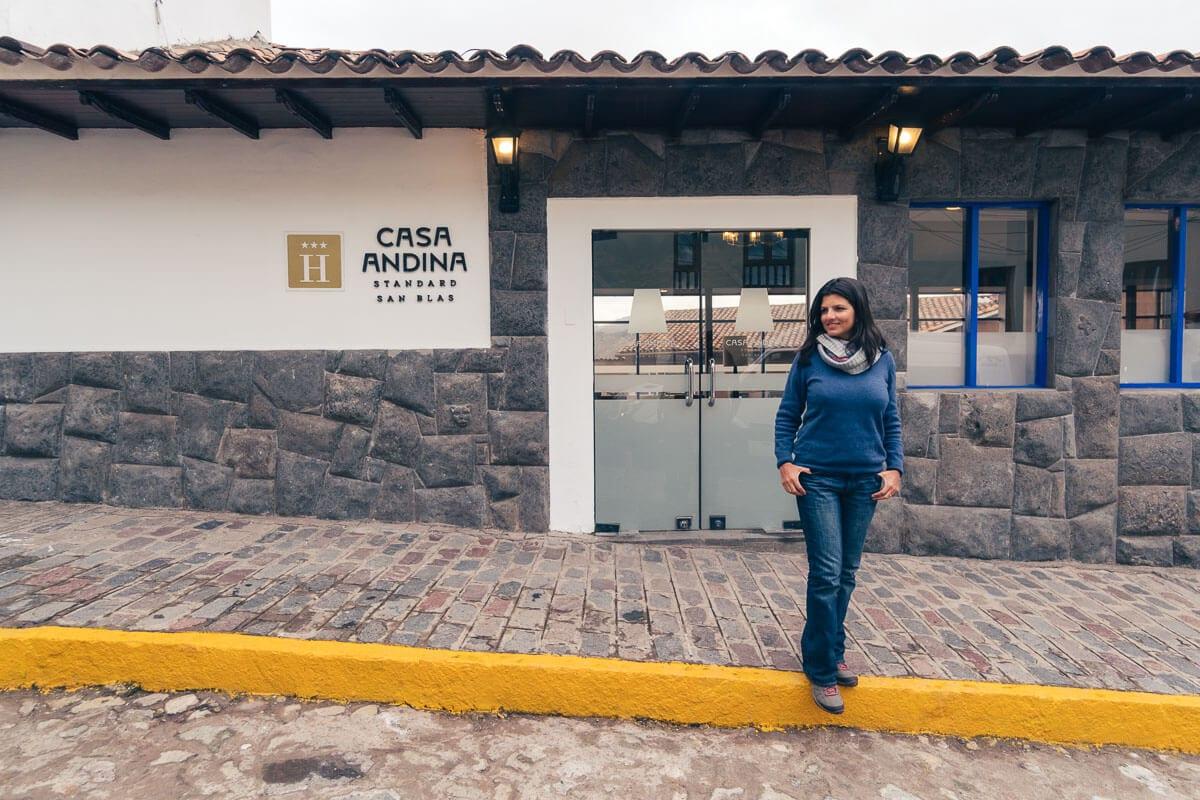 Vale Sagrado dos Incas - casa andina