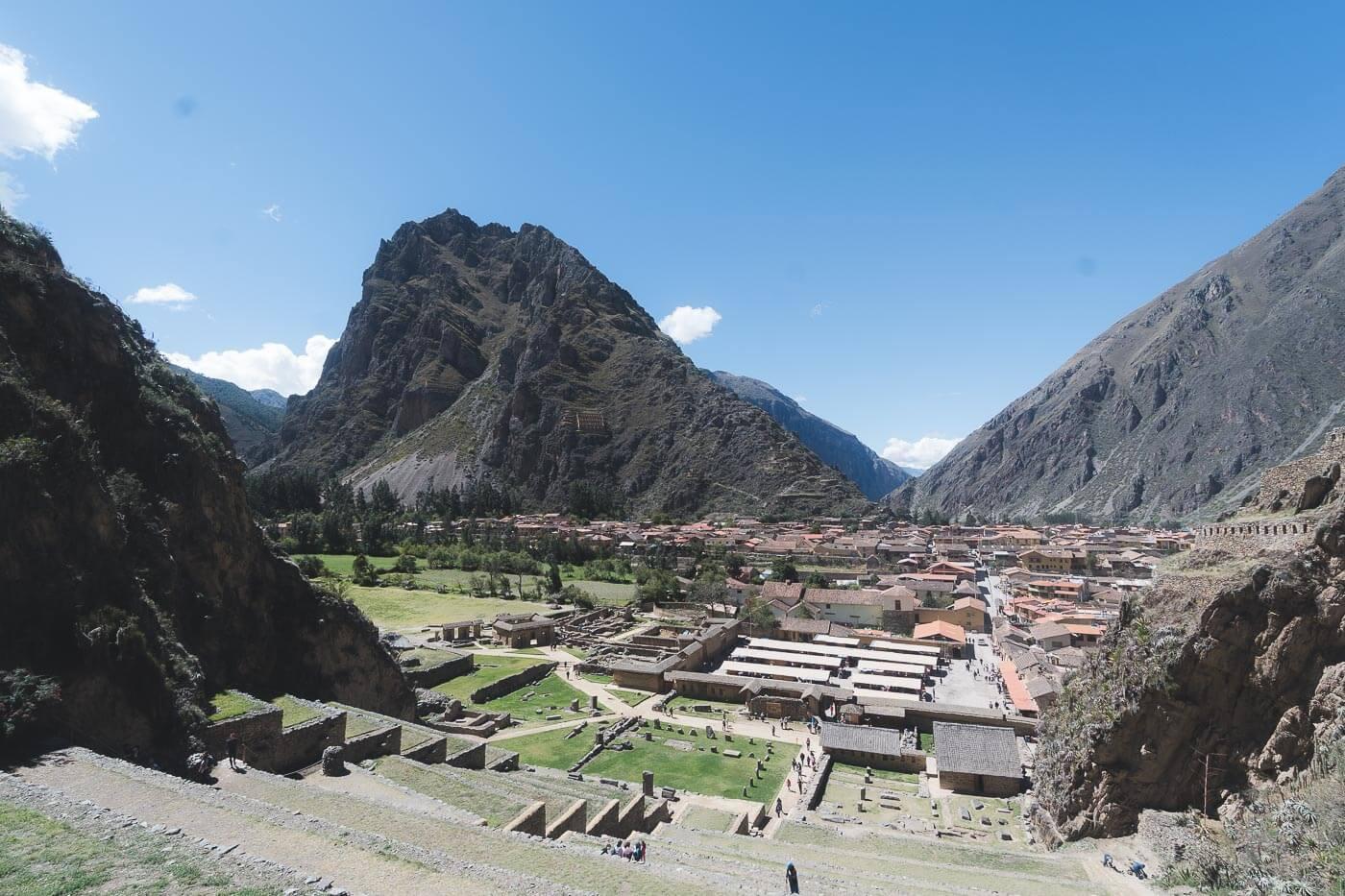 Vale Sagrado dos Incas -  Ollantaytambo 2