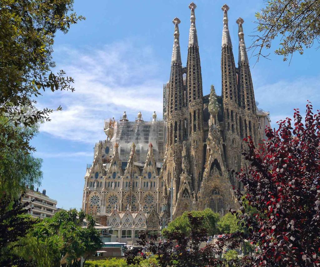 Pontos turisticos de Barcelona: Sagrada Familia