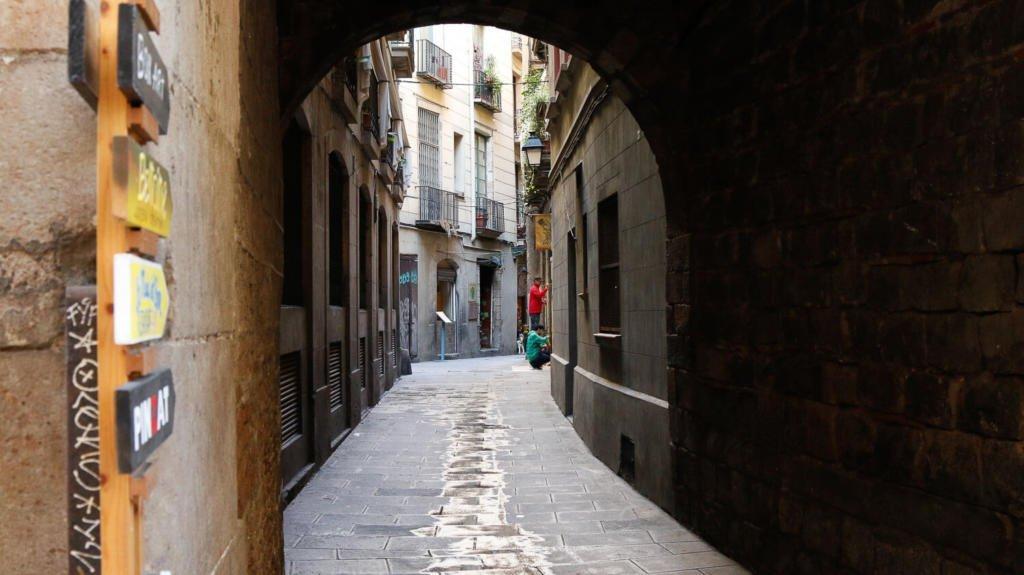 Pontos turisticos de Barcelona: bairro gotico