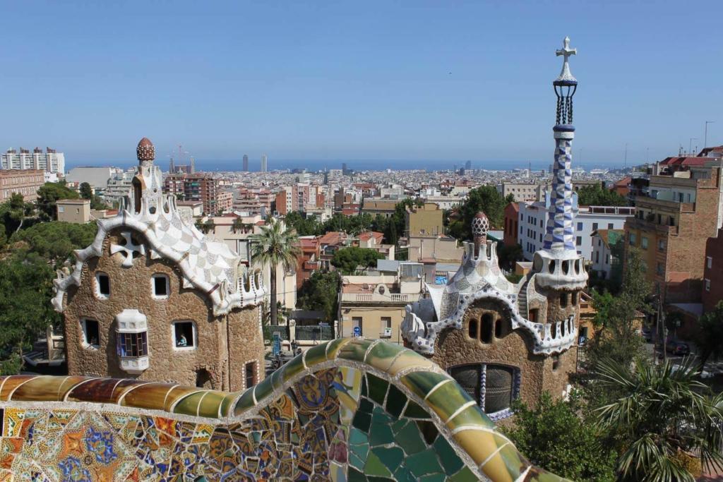 Pontos turisticos de Barcelona: Park Guell