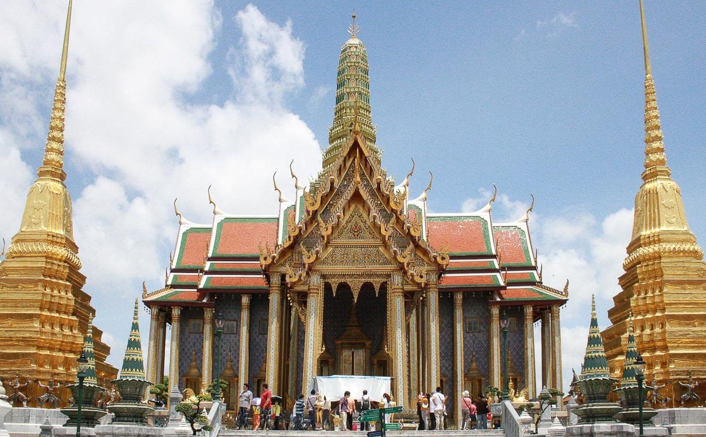 Turismo na Tailândia - templo