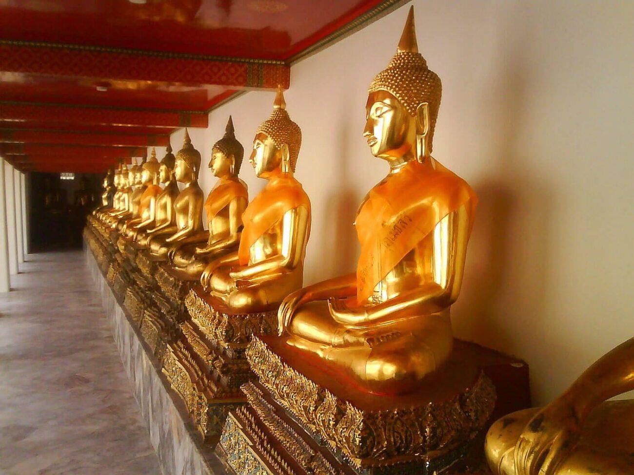 Turismo na Tailândia - Budas