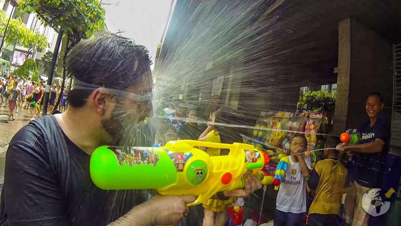 Turismo na Tailândia - Songkran