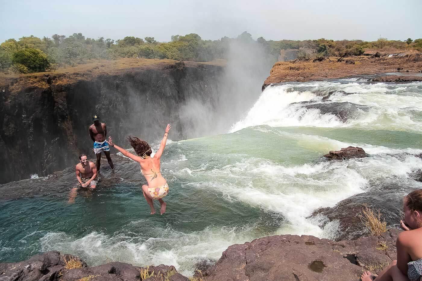 turismo no Zimbábue - Zambia