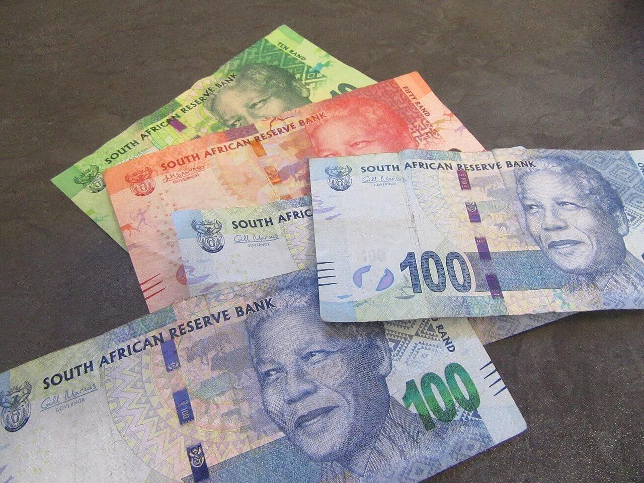 Viagem para África do Sul - Notas de Rand
