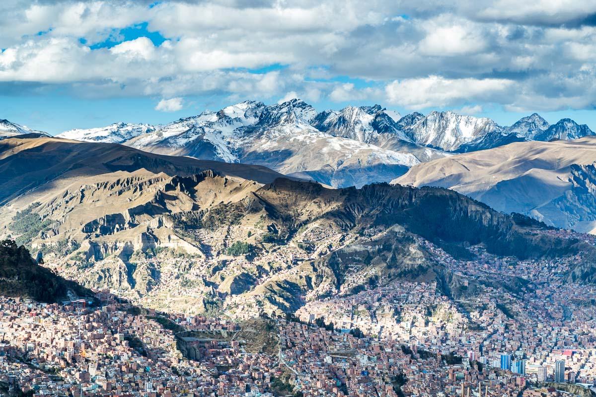 Viagem para Bolívia - La Paz
