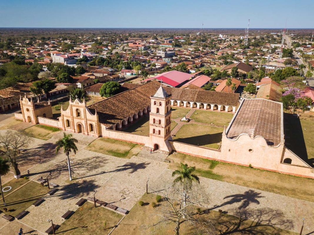 Viagem para Bolívia - San José de Chiquitos
