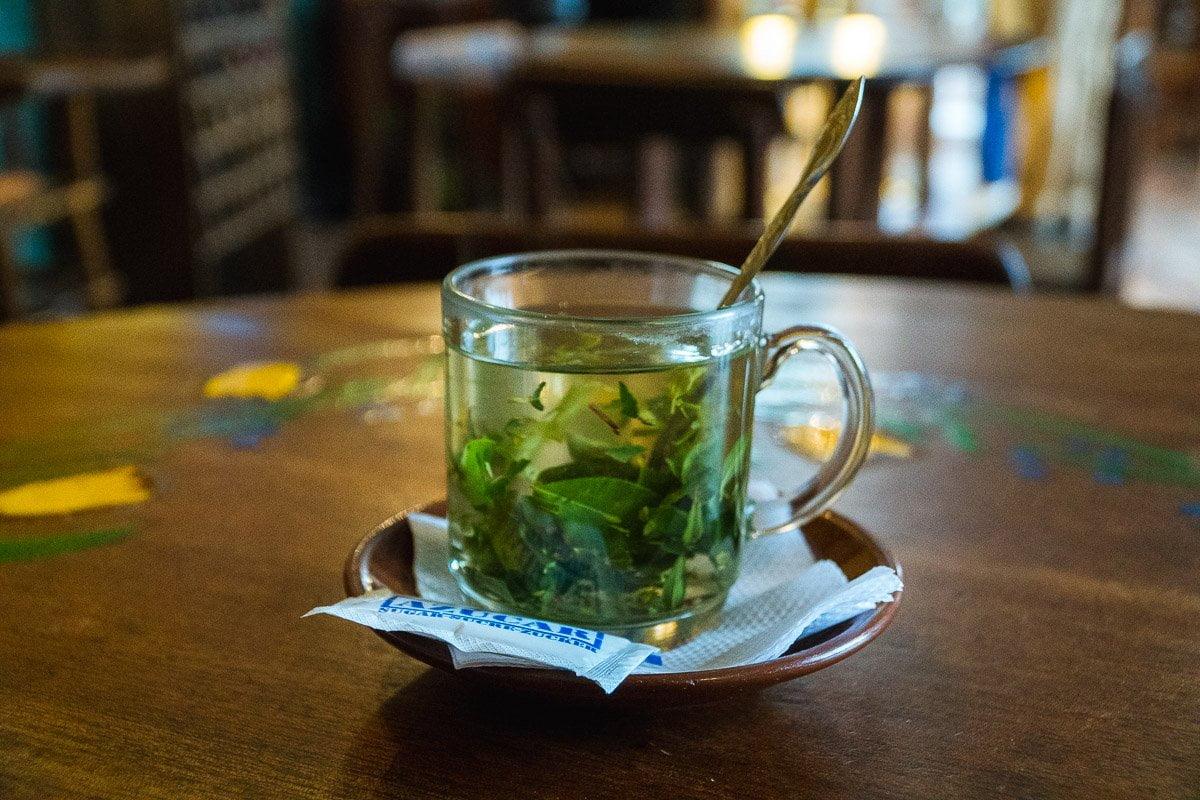 Viagem para Bolívia - Chá de Coca