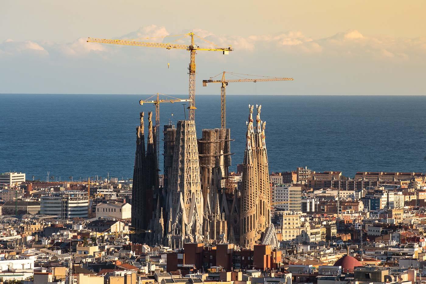 Viagem para Espanha - Sagrada Família