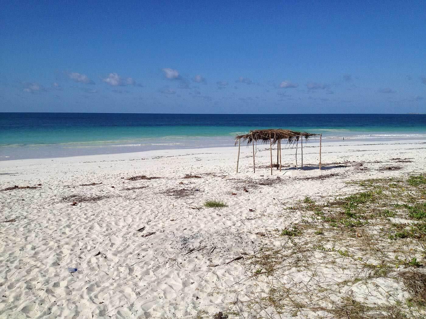 Viagem para Moçambique - Para deserta