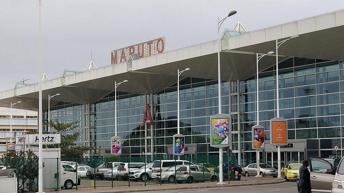 Viagem para Moçambique - Aeroporto