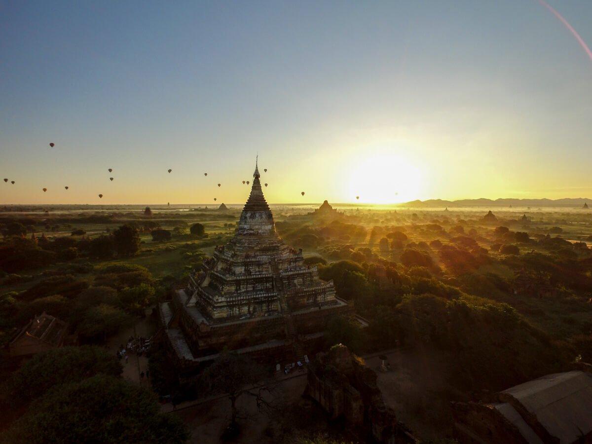 Viagem para Myanmar - Bagan