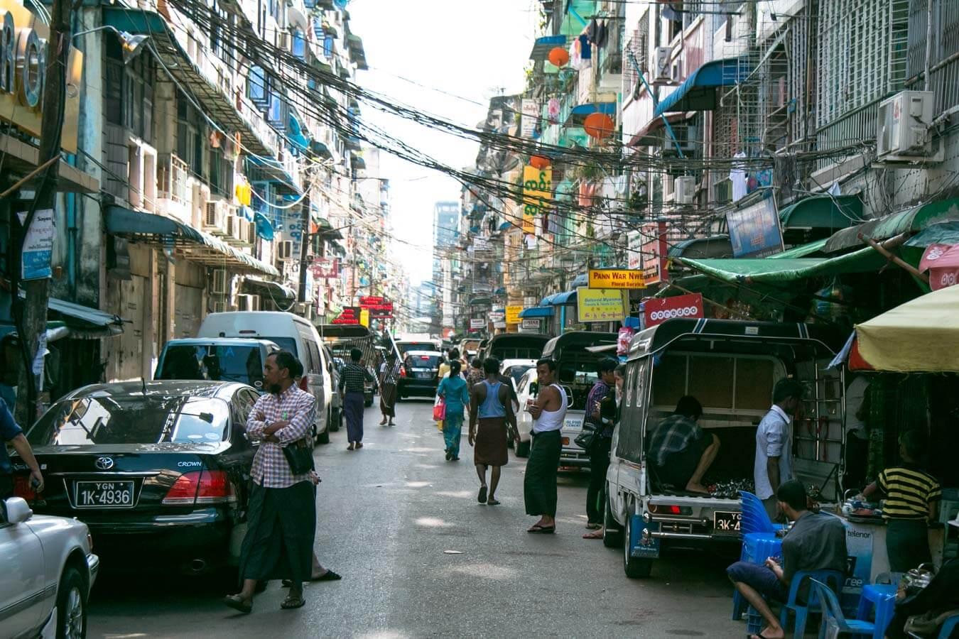 Viagem para Myanmar - Yangon