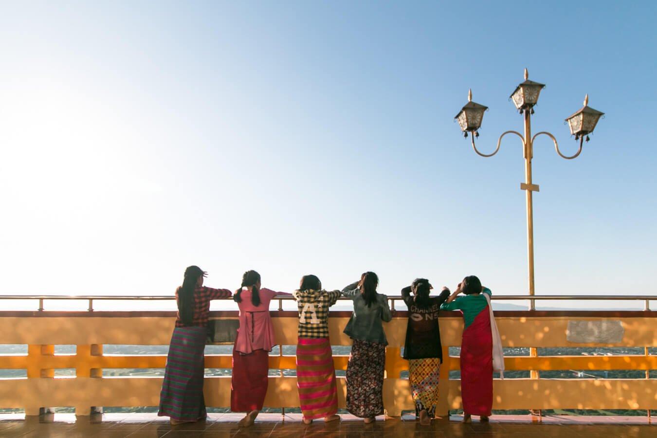 Viagem para Myanmar - Mandalay Hill