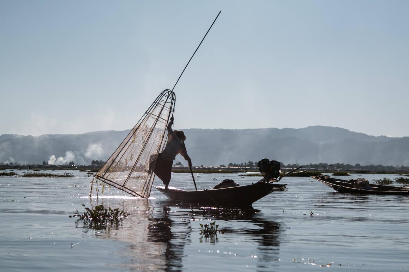 Viagem para o Myanmar - Inle Lake