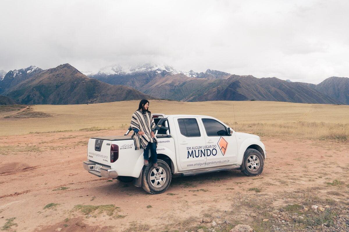 Viagem para o Peru - Pimpa
