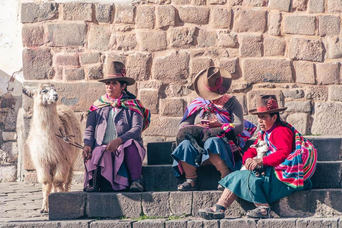 Viagem para o Peru - Cholitas