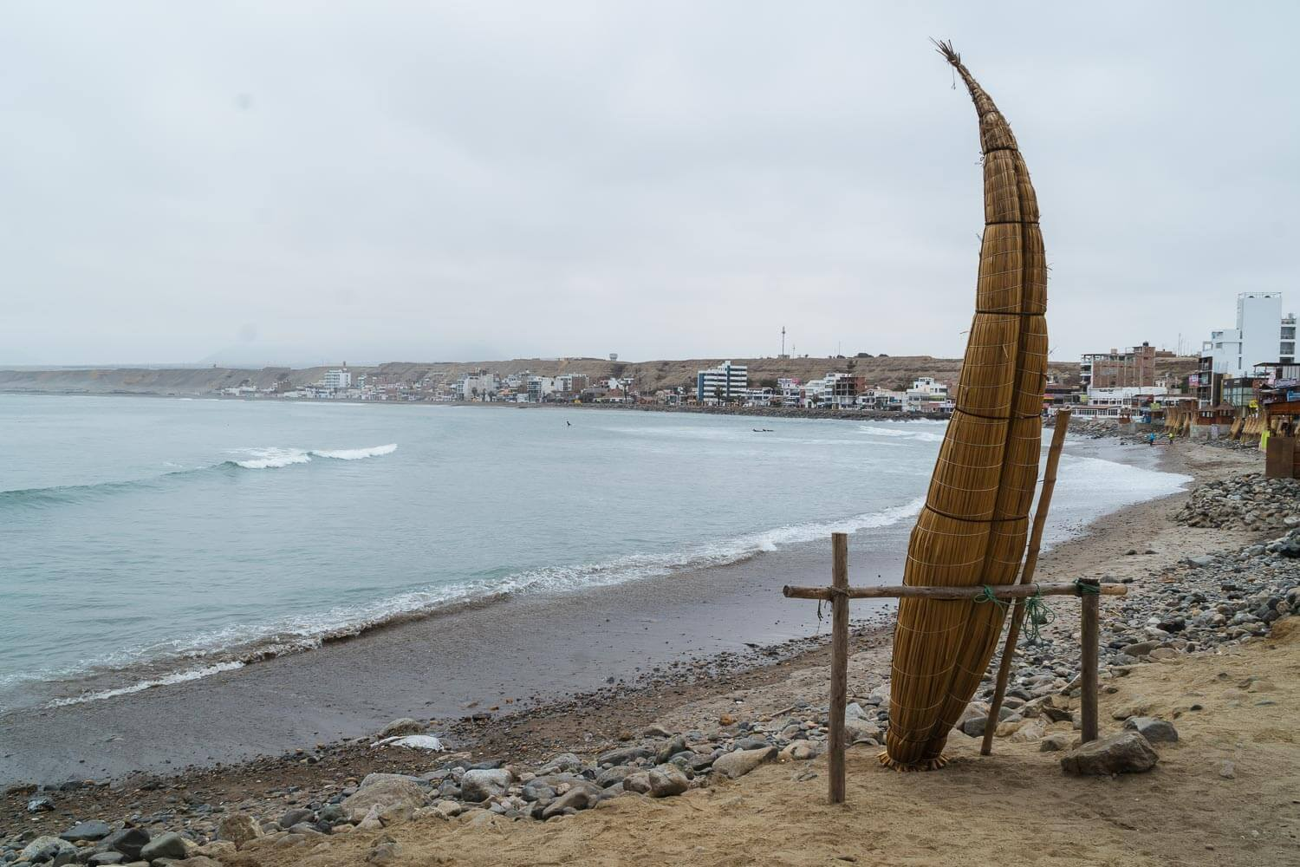 Viagem para o Peru - Praia em Trujillo